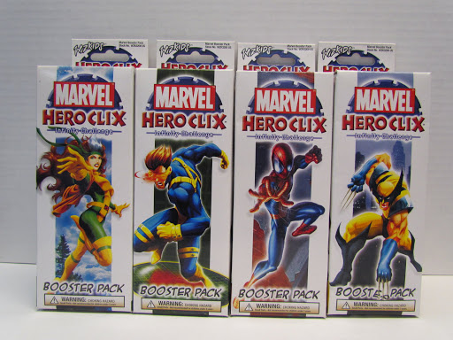 Heroclix Infinity Challenge booster packs