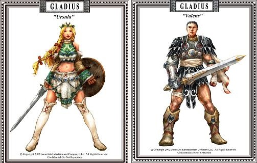 gladius - ursula and valens concept art
