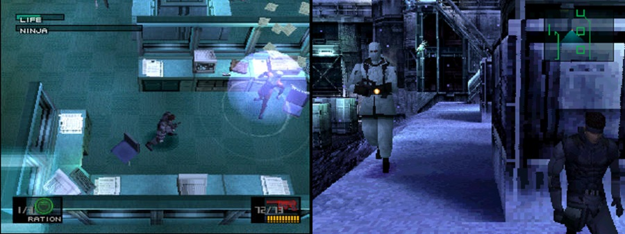 mgs ps1 collage