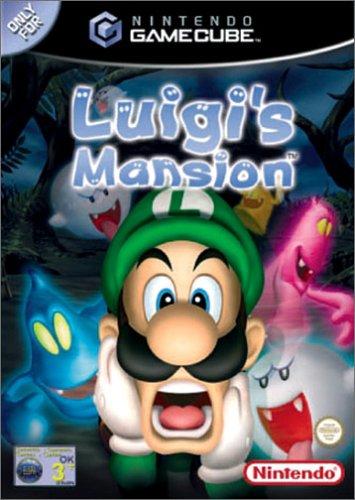 luigis mansion - cover
