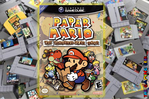 Gamecube Games – Paper Mario: The Thousand Year Door
