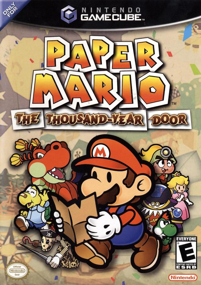 paper mario - cover