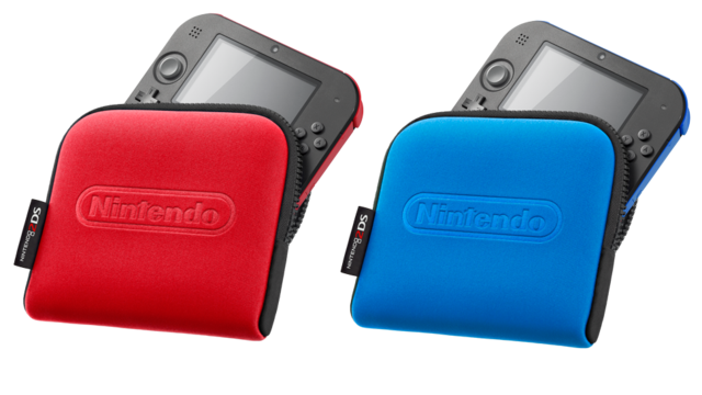 nintendo 2ds - carrying case