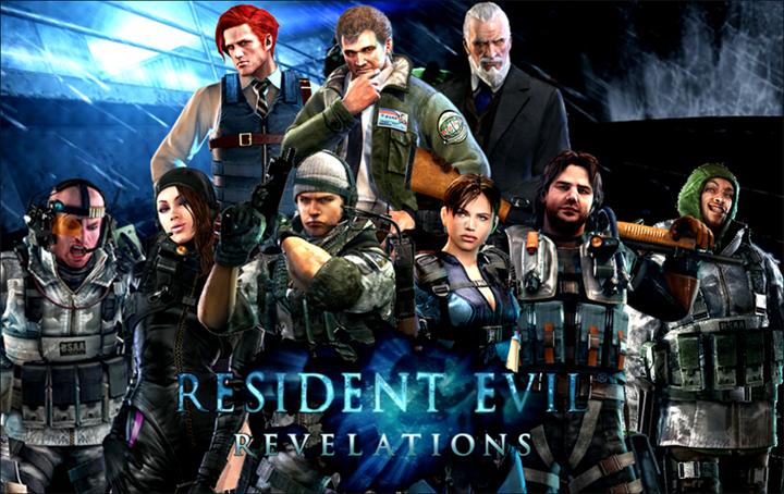 resident evil revelations - characters