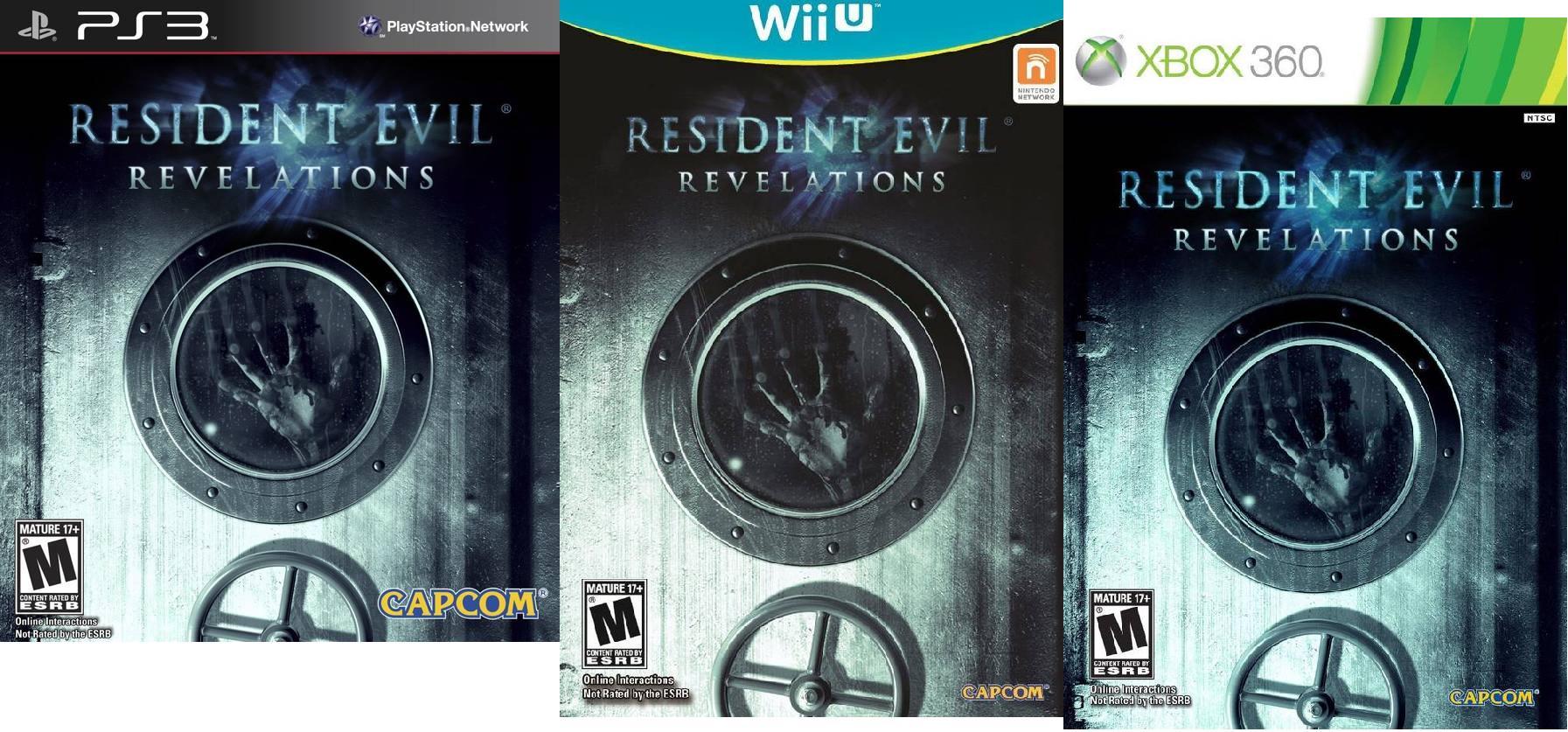 resident evil revelations - consoles