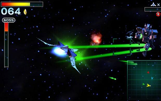 Star Fox 64 3d - boss battle