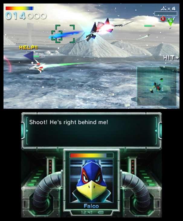 Star Fox 64 3d - save falco