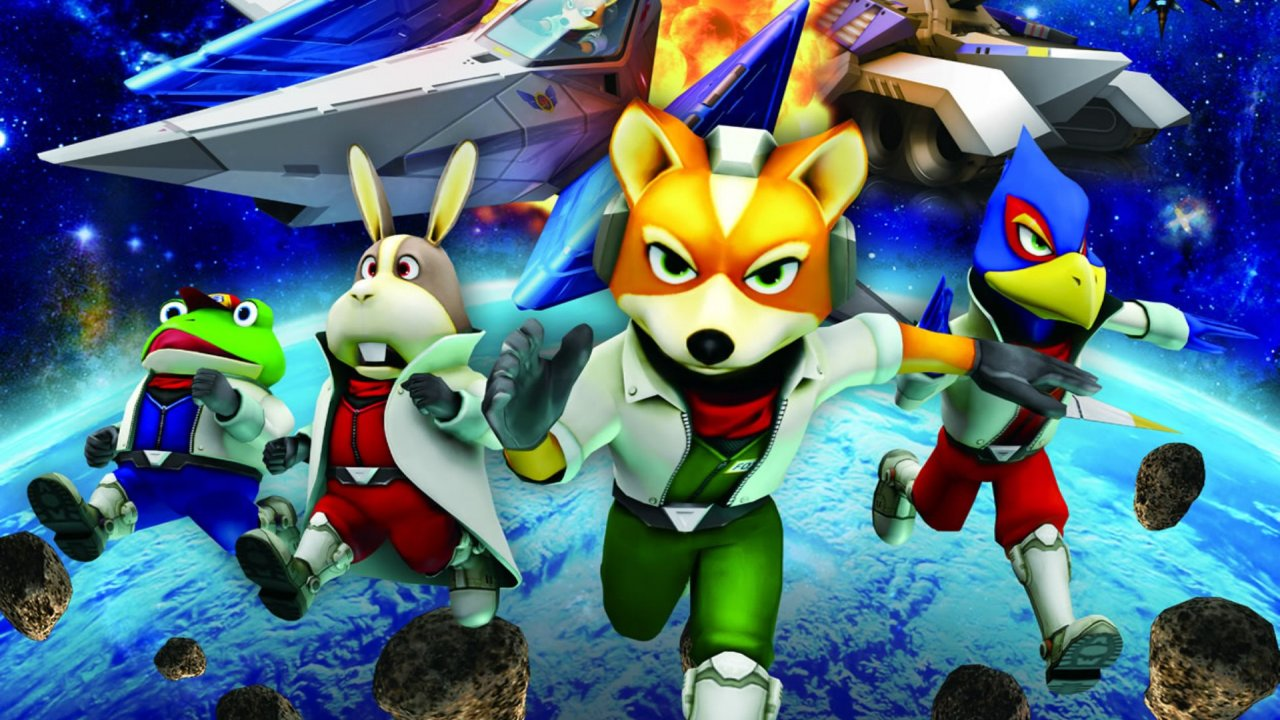 star fox 64 3d - star fox team