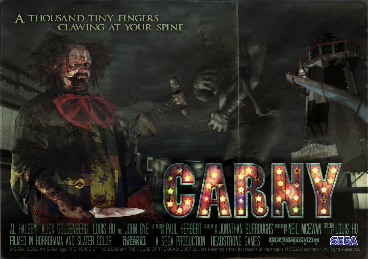 The House of the Dead Overkill - carny