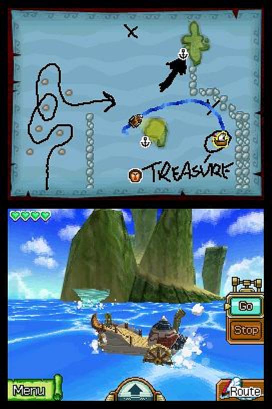 the legend of zelda phantom hourglass - sailing