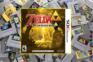 3DS Games – The Legend of Zelda: A Link Between Worlds