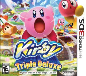 kirby triple deluxe - box