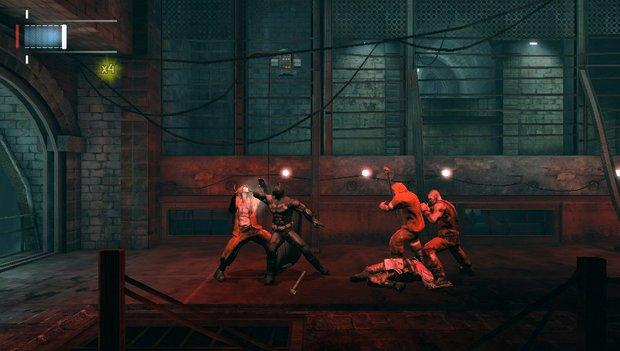 batman ao blackgate - combat 2