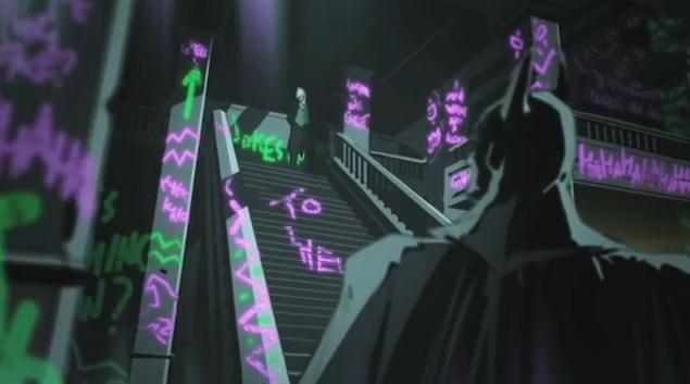 batman ao blackgate - cut scene