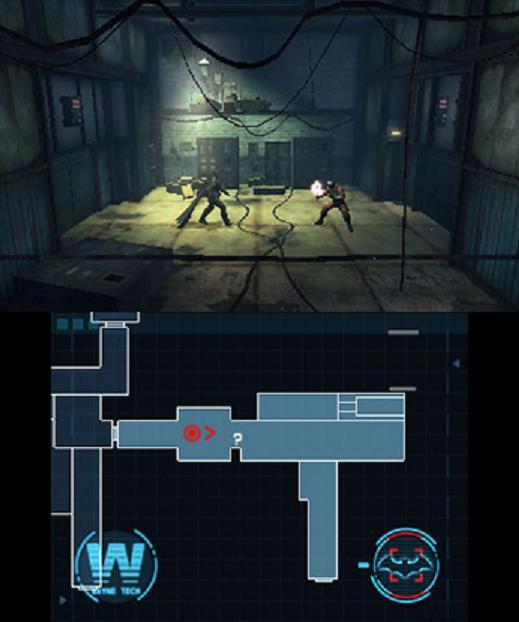 batman ao blackgate - two screens