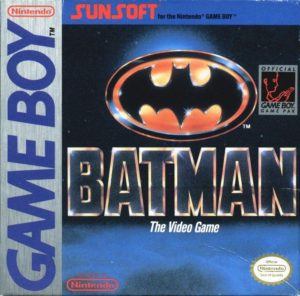 Box art for Batman on the Nintendo Game Boy.