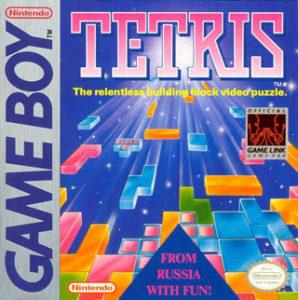 Box art for Tetris for the Nintendo Game Boy