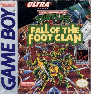 Box art for Teenage Mutant Ninja Turtles for the Nintendo Game Boy