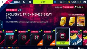 The Trion Nemesis event