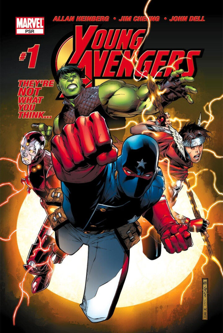 Cover of Young Avengers #1