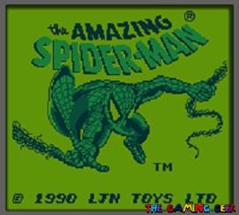 amazing spider-man title screen
