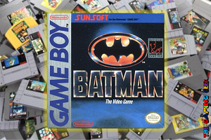 Game Boy Games – Batman The Video Game