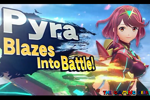 Pyra/Mythra Smash Bros Ultimate DLC Announcement Reaction