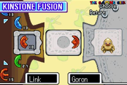Kinstone fusion - The Minish Cap