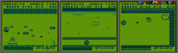 super mario land vehicle stages