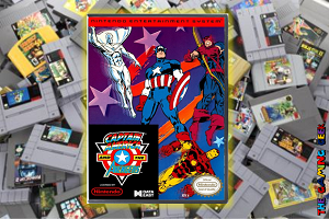 NES Games – Captain America and the Avengers