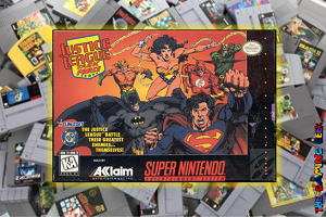 SNES Games – Justice League Task Force