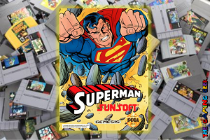 Genesis Games – Superman (1992 version)