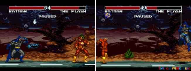 Batman's special moves