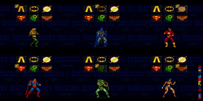 Justice League Task Force roster