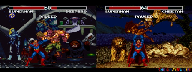 Despero and Cheetah