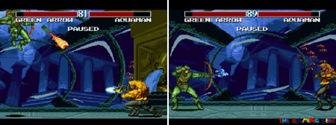 Green Arrow's moves