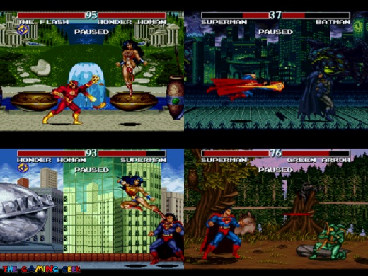 Justice League Task Force more screens