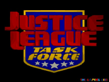 Justice League Task Force title screen