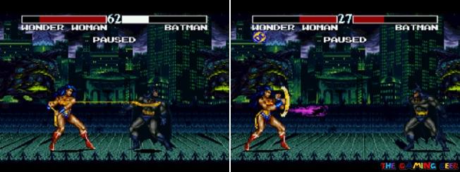 Wonder Woman's moves