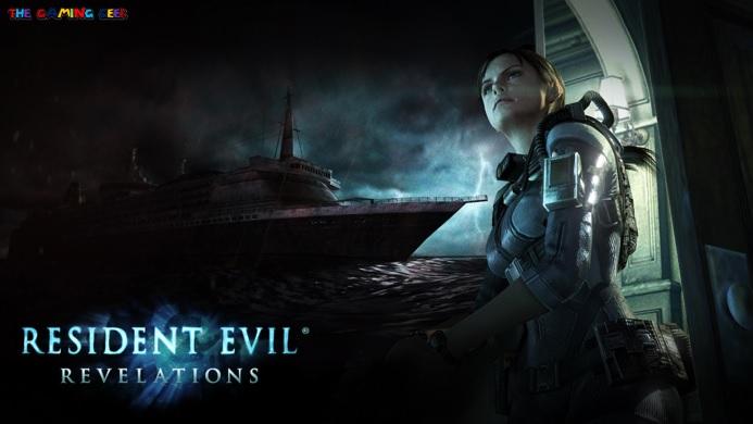 resident evil revelations - title screen