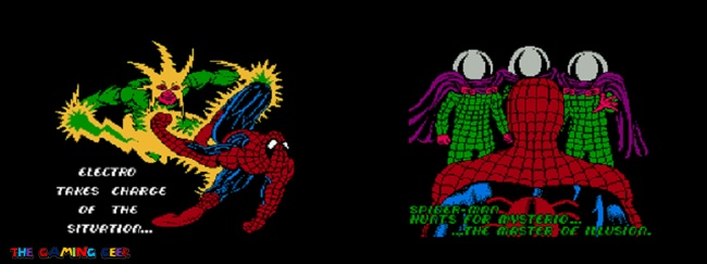 Return of the Sinister Six intros