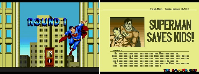 Superman cutscenes