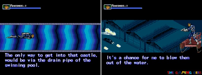 The Punisher cutscenes