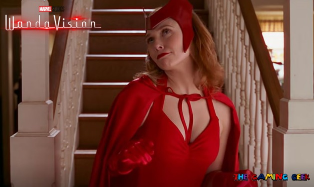 The Scarlet Witch in WandaVision