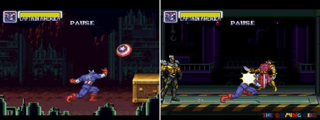 Captain America's moves