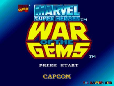 War of the Gems title screen