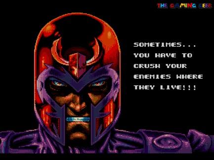 X-Men intro cutscene