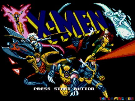 X-Men Title Screen