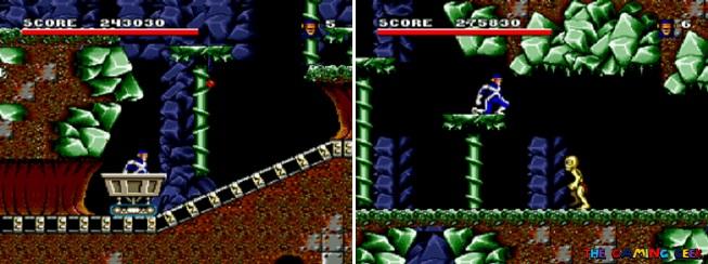 Arcade's Revenge - Cyclops' levels