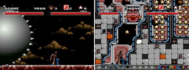Arcade's Revenge - Gambit's levels